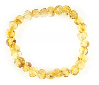 Adult Baroque Amber Health Bracelet