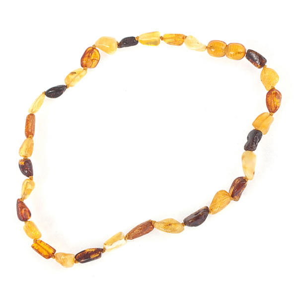 Olive Garden With Amberstone: Olive Amber Necklace