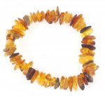 Adult Split Amber Health Bracelets