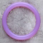 Teething Bling BANGLE - Amethyst