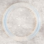 Teething Bling BANGLE - Clear