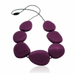 Jellystone Eggplant Necklace