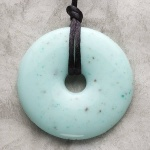 Teething Bling Pendant - Jade