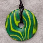 Teething Bling Pendant - Malachite