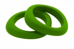 Organic Bangle Peapod Green
