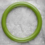 Teething Bling BANGLE - Peridot Green