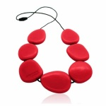 Jellystone Scarlet Red Necklace