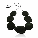 Jellystone Smokey Black Necklace