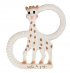 So Pure Sophie the Giraffe Teething Ring - SOFT