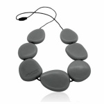 Jellystone Stormy Grey Necklace