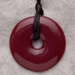 Teething Bling Pendant - Sugar Plum