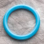 Teething Bling BANGLE - Turquoise