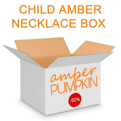 SAVE 50% + off Child Amber Necklace Box