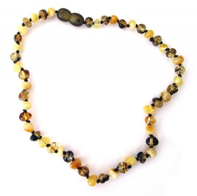 Butterscotch Pebbles Amber Necklace