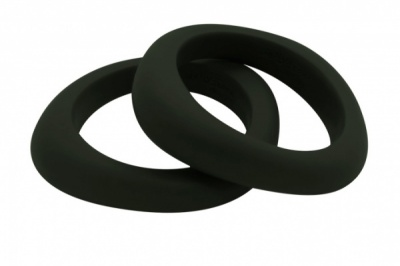 Organic Bangle Smokey Black