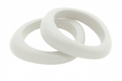 Organic Bangle Snow White