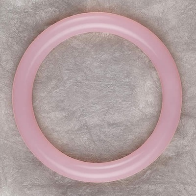 Teething Bling BANGLE - Pink cupcake