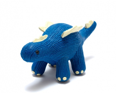 My First Stegosaurus Natural Rubber Dinosaur Toy