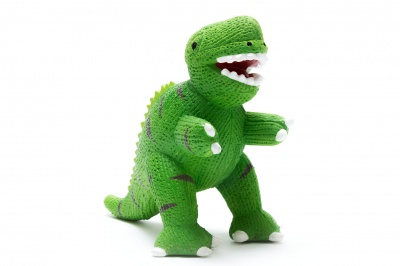 My First T-Rex Natural Rubber Dinosaur Toy