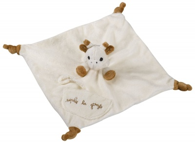 Sophie The Giraffe Comforter with Soother Holder
