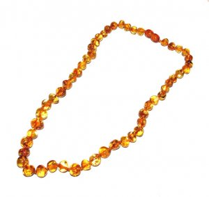 45cm Adult Baroque Amber Necklace