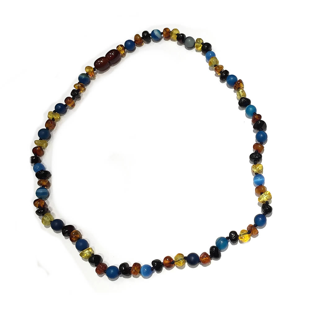 precious products chalcedony stones necklace earth lariat with semi and
