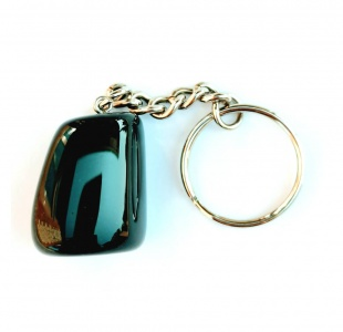 Birth Stone Keyring - Gemini - Black Onyx