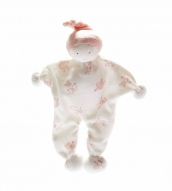 Under the Nile Organic Cotton Baby Buddy Little Pink Folk