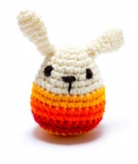 Pebble Crochet Mini Bunny Yellow Strip