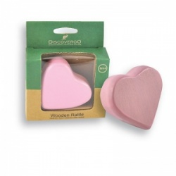 Discoveroo Heart Rattle