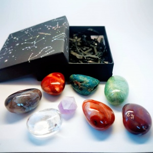 Medium Chakra Crystal Gemstone Gift Set