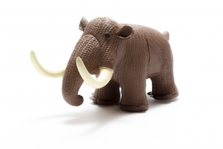 My First Mammoth Natural Rubber Toy
