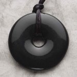 Teething Bling Pendant - Onyx