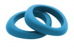 Organic Bangle Blue Hawaiian