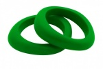 Organic Bangle Grassy Green