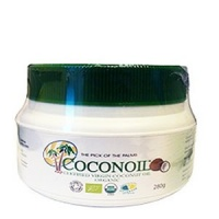 Organic Virgin Coconut Oil - 280g