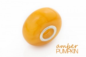 Butterscotch Amber Charm Bead