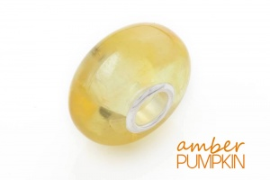 Honey Lemon Amber Charm Bead