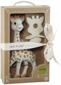So Pure Sophie the Giraffe and Natural Teether Set