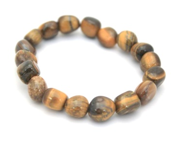 Adult Chunky  Tigers Eye Bracelet