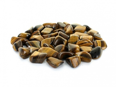 Gold Tigers Eye Tumblestone Crystal Gemstones