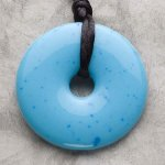 Teething Bling Pendant - Turquoise