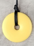 Teething Bling Pendant - Sunshine Yellow