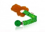Hevea Panda Teether Clip