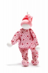 Under the Nile Organic Cotton Baby Buddy Dotty Pink Hat