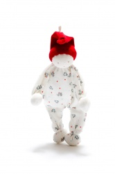 Under the Nile Organic Cotton Baby Buddy Red Hat