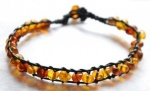Adult Baroque Amber Friendship Bracelet
