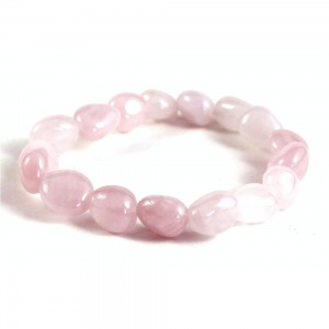 Adult Chunky Rose Quartz Bracelet