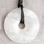 Teething Bling Pendant - Pearl Shimmer
